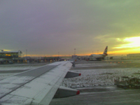 Sunrise at Heathrow
